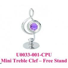 Mini Treble Clef - Free Stand高音譜號