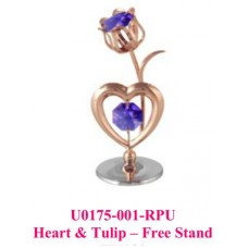 Heart & Tulip - Free Stand