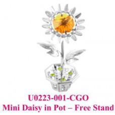 Mini Daisy in Pot - Free stand