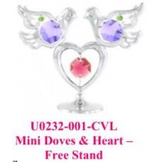 Mini Dove & Heart-Free stand