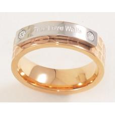True Love Waits 精鋼貞潔玫瑰金介子 女裝